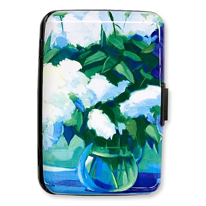 Bouquet of Lilacs RFID Armored Wallet