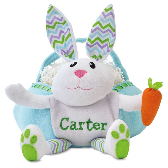 Personalized Bunny Easter Baskets