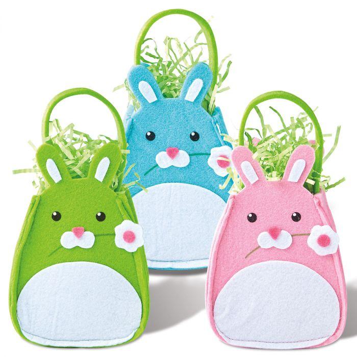 Easter Felt Bunny Treat Bags