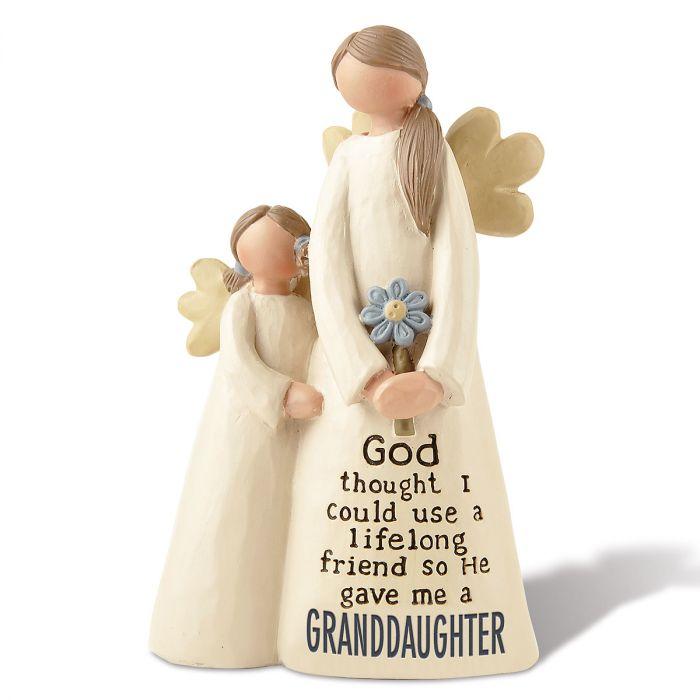 God Gave Me a Granddaughter Angel