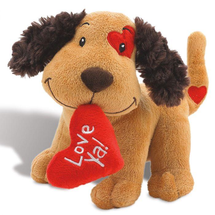Plush Valentines Puppy