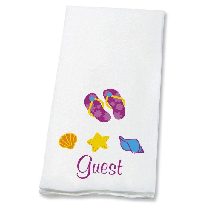 Flip-Flops Disposable Hand Towels