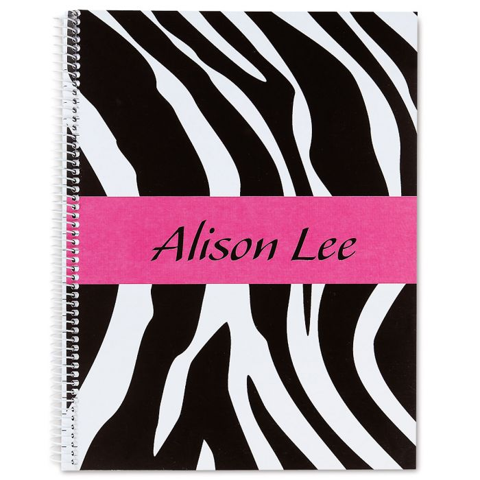 Zebra-Print Notebook-Large-810553