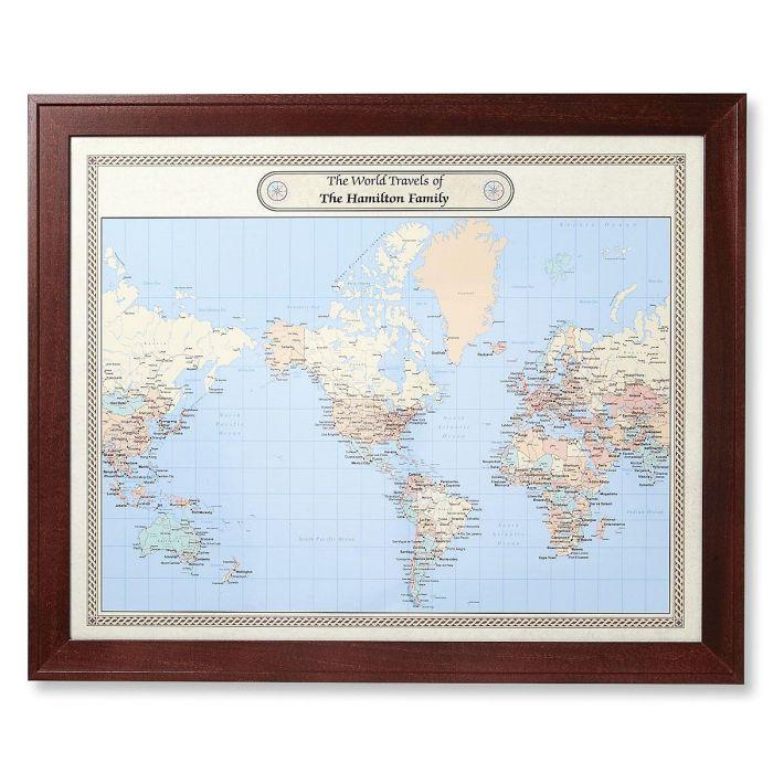 World Customized Map