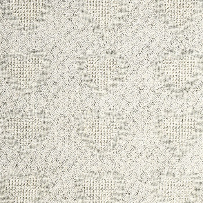 Honeycomb Heart Throw-Gold-811134B