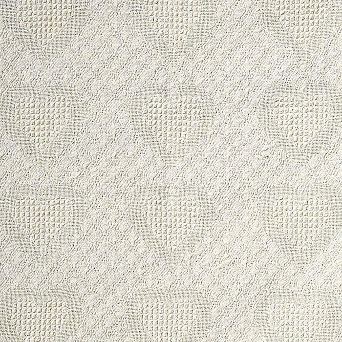 Honeycomb Heart Throw-Silver-811134C