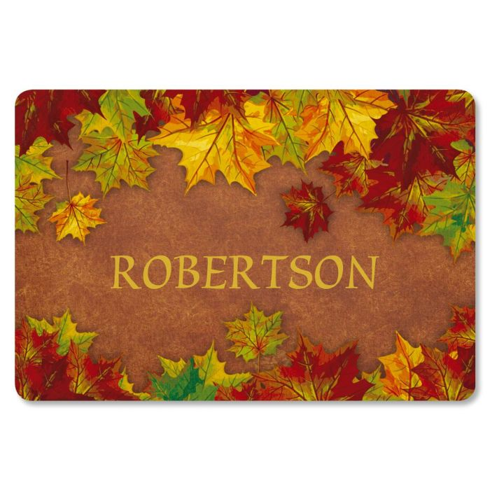 Autumn Color Doormat