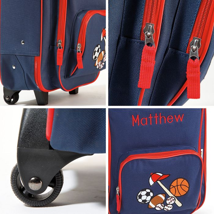 """All Sports 18"""" Rolling Luggage"""
