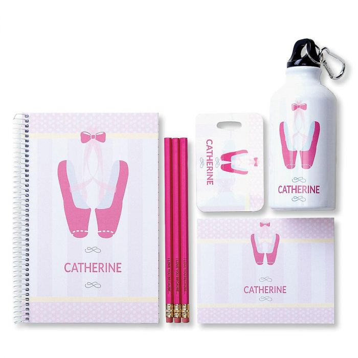 Pink Personalized Pencils