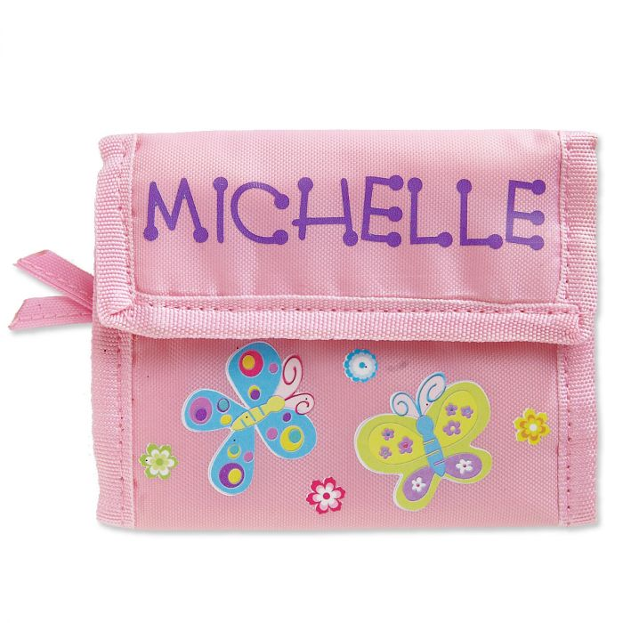 Personalized Girls Wallets-Butterfly-814146A