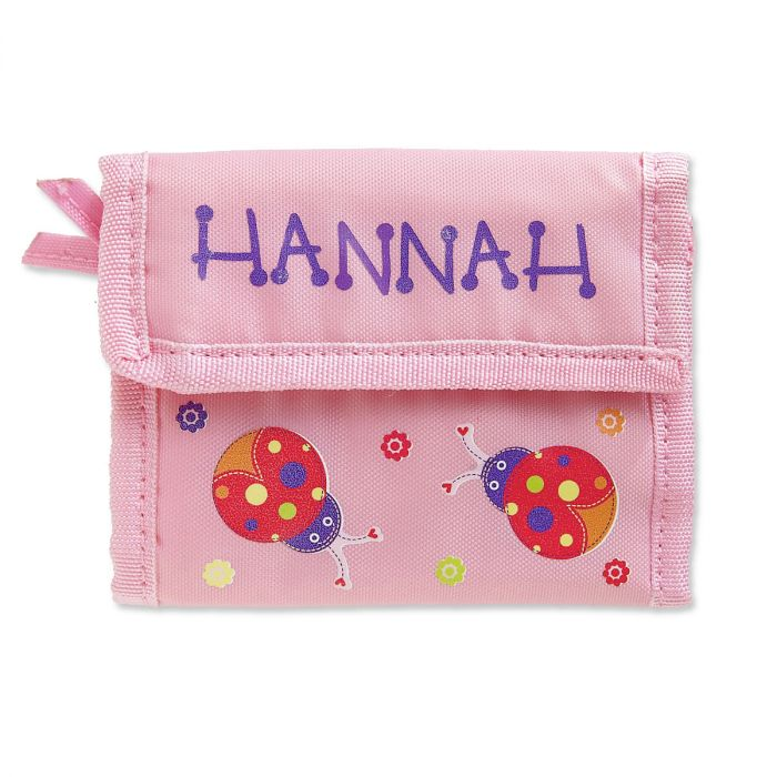 Personalized Girls Wallets-Ladybugs-814146C