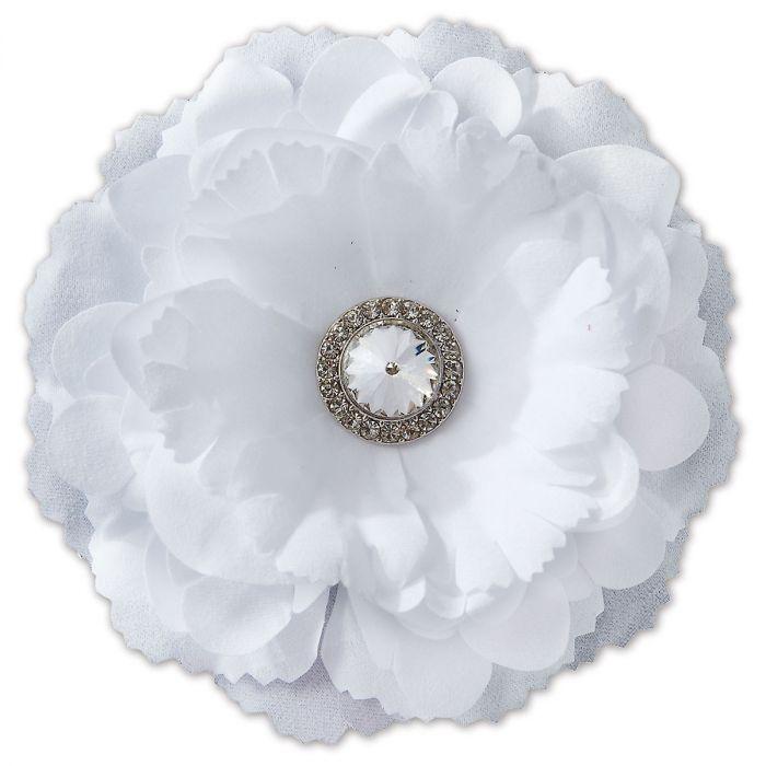 White Locker Peony Flower