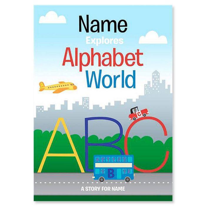 Alphabet World Personalized Storybook