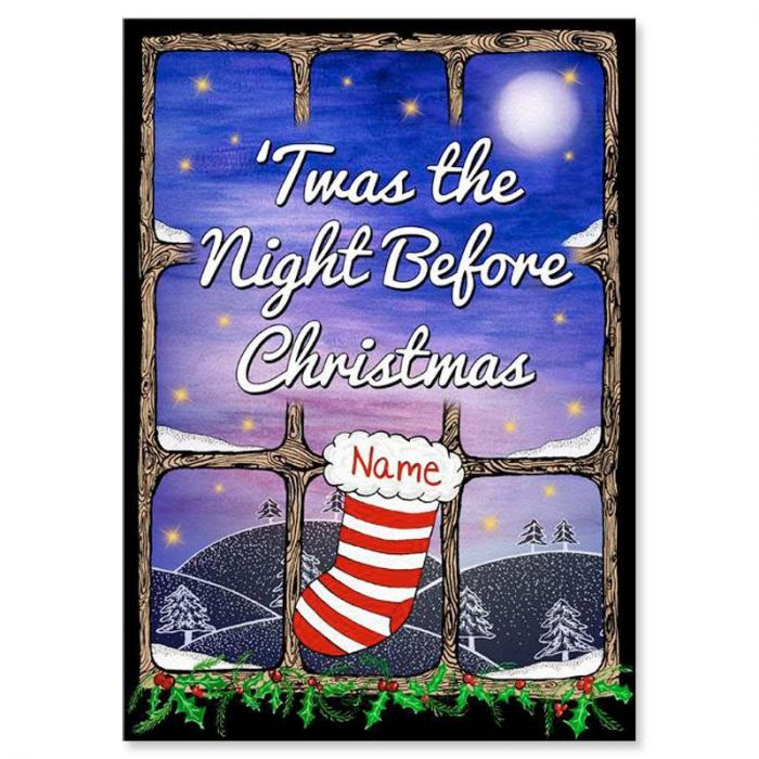 Twas the Night Before Christmas Personalized Storybook