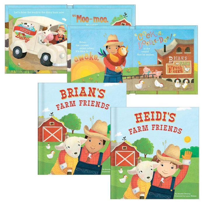 My Farm Friends Personalized Storybook