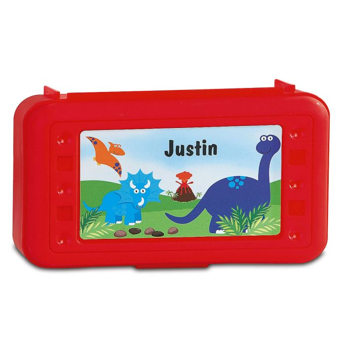Pencil Boxes-Red-815863B