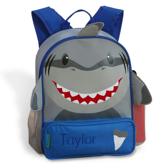 Shark 3-D Personalized Backpack by Stephen Joseph®