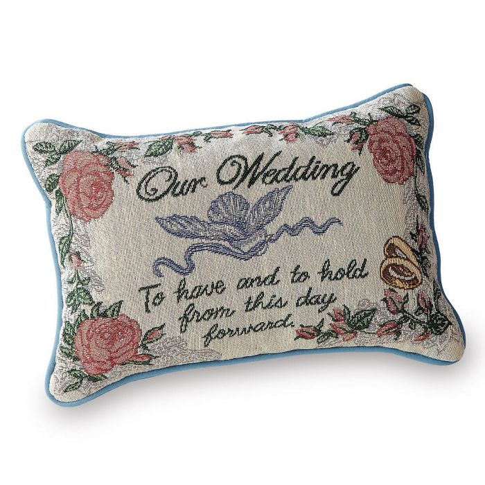 Our Wedding Pillow
