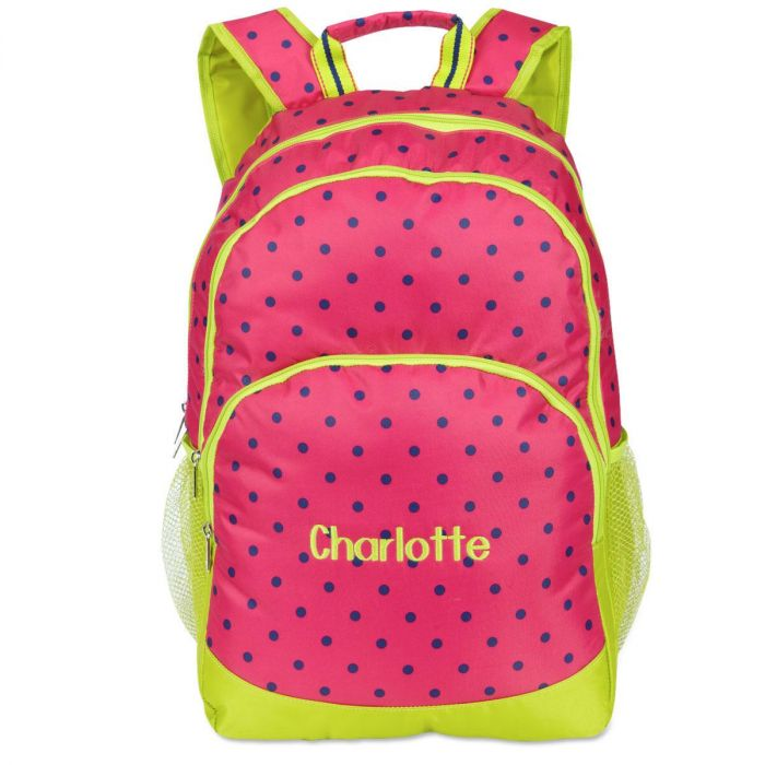 Pink Dot Backpack