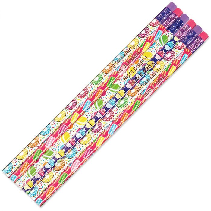 Sweet Things Personalized Pencils
