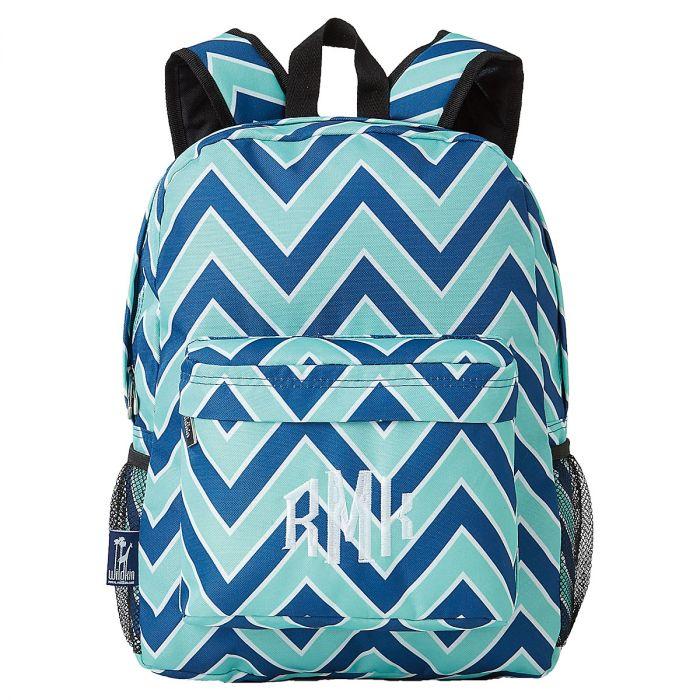 Chevron Seabreeze Backpack - Monogram