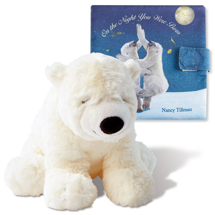On the Night You Were Born Personalized Storybook & Plush Polar Bear