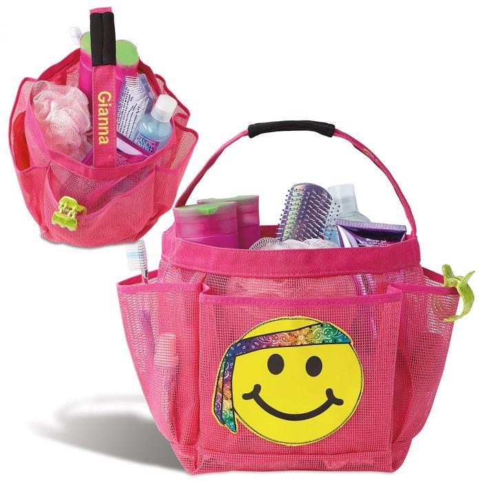 Personalized Emoji Shower Caddy