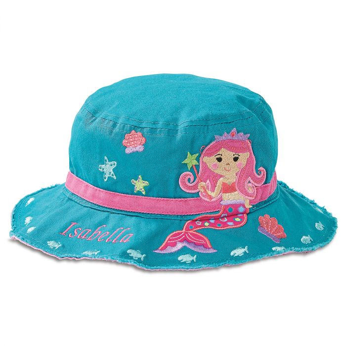 Personalized Mermaid Bucket Hat by Stephen Joseph®