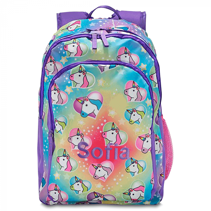 Unicorn Personalized Backpack