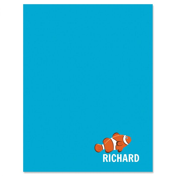 Clownfish Correspondence Cards