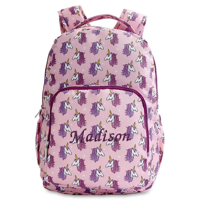 Personalized Unicorn Faces Backpack