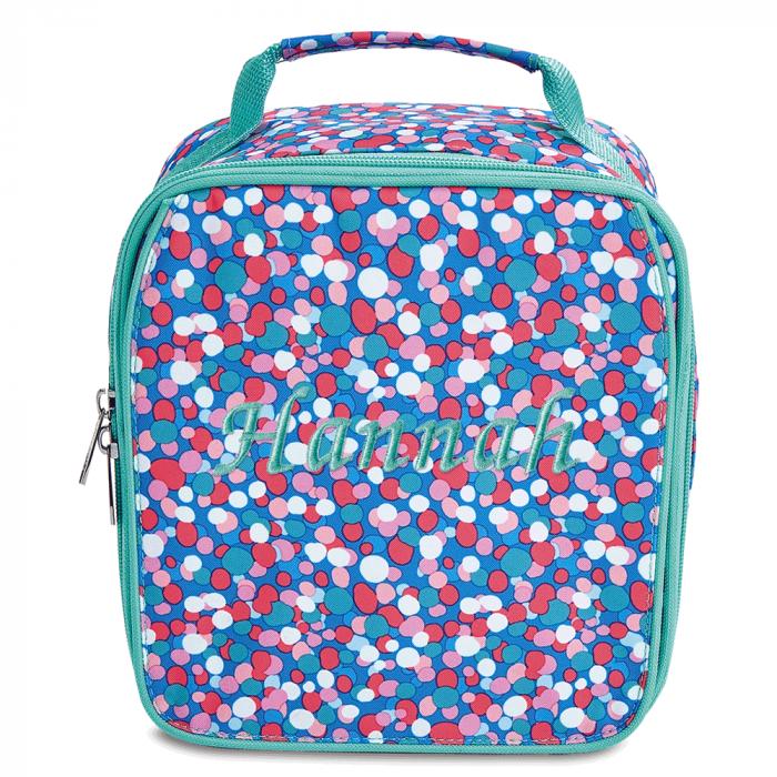 Personalized Confetti Pop Lunch Bag