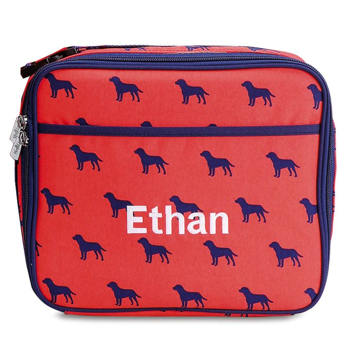 Personalized Dog Days Lunch Bag