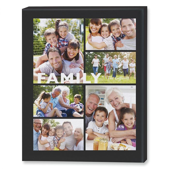 Family Collage Photo Canvas