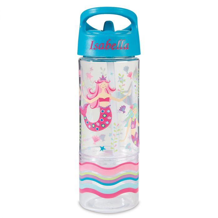 Personalized Mermaid Sip & Snack Bottle by Stephen Joseph®