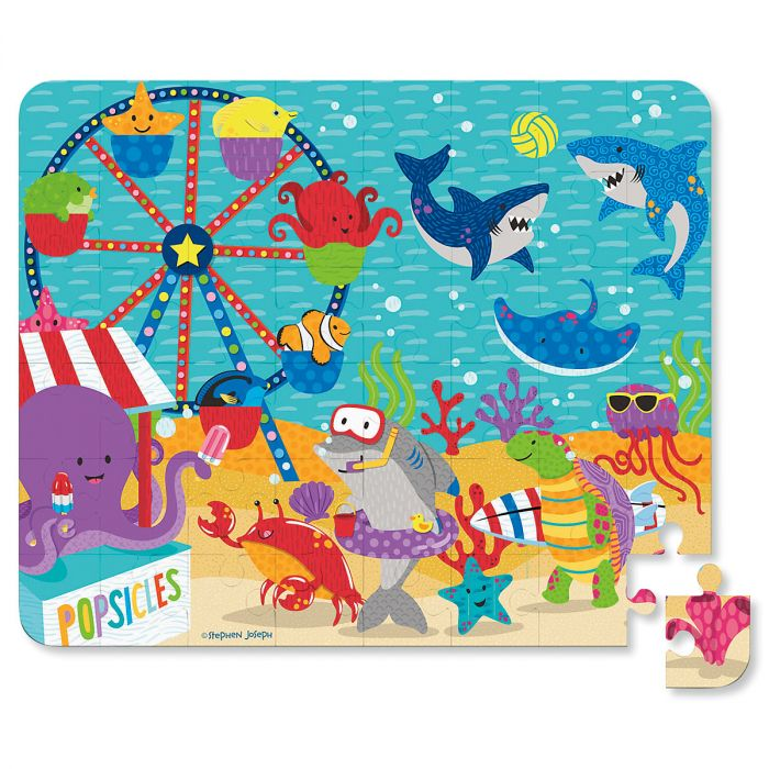 Personalized Shark Tin Bank with Puzzle by Stephen Joseph®