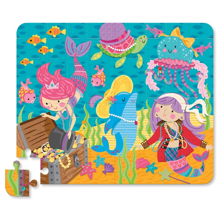 Personalized Mermaid Tin Bank with Puzzle by Stephen Joseph®