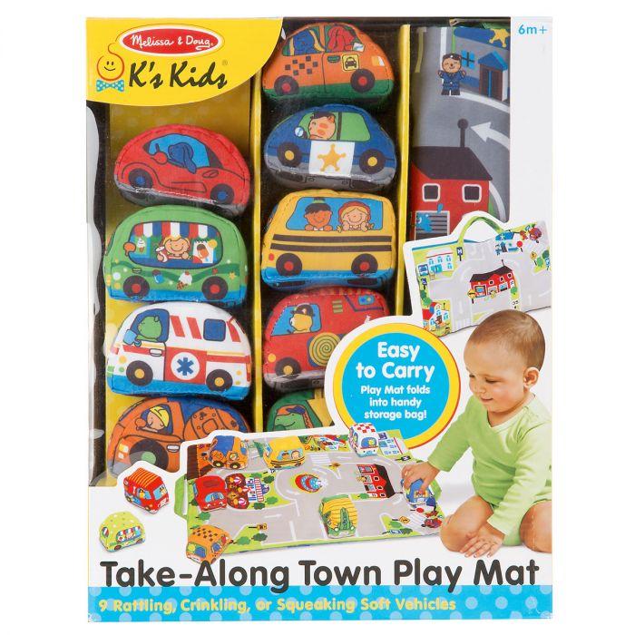Take-Along Town Playmat by Melissa & Doug®