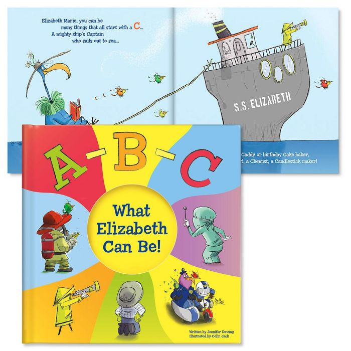 ABC, What Can I Be Personalized Storybook