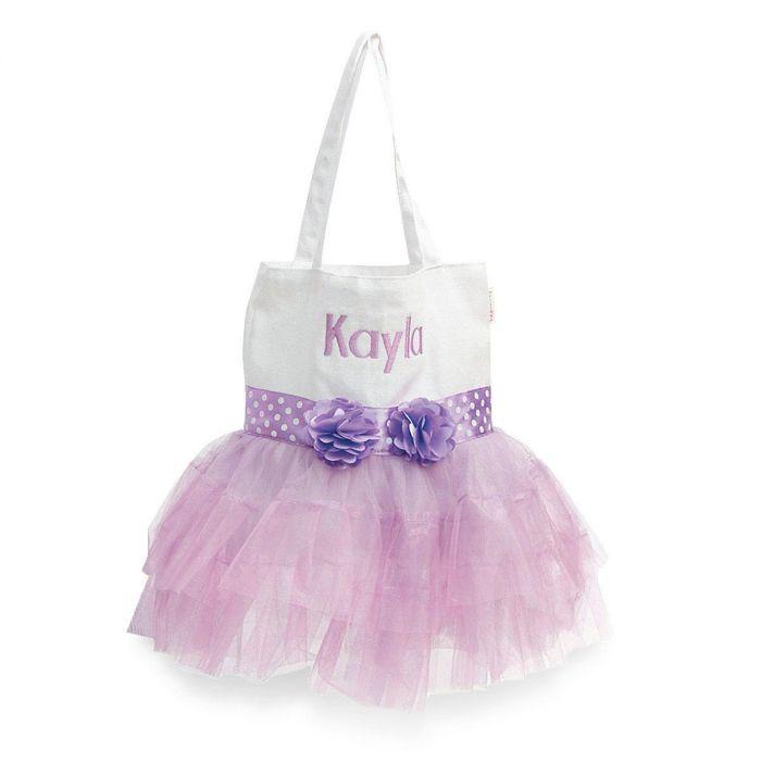 TuTu Skirt Tote in Purple
