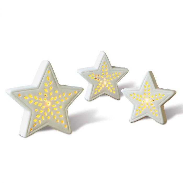 Porcelain LED Stars