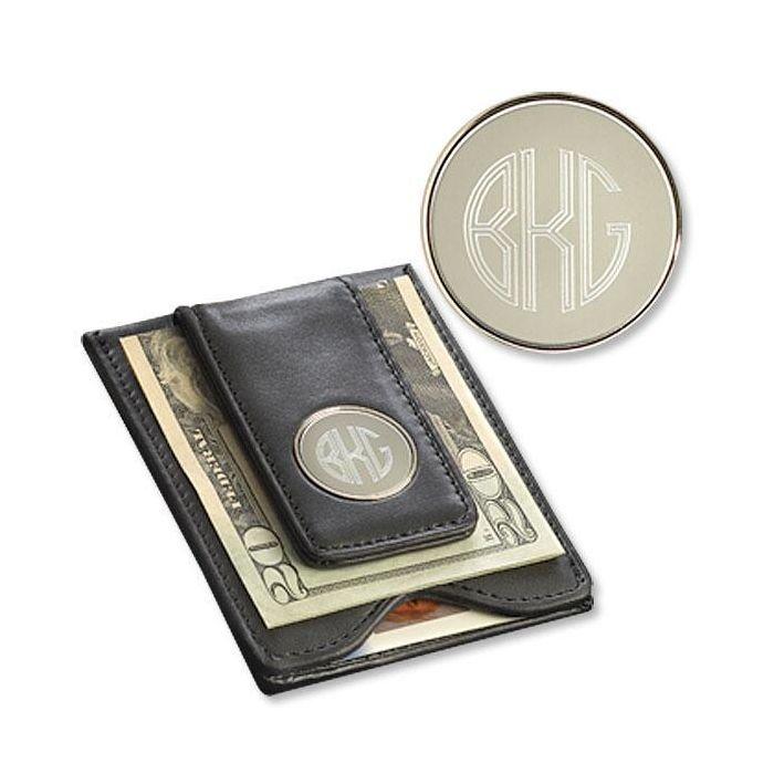 Leather Wallet & Money Clip