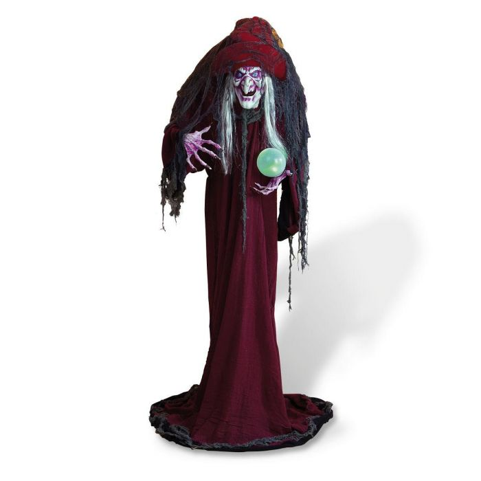 Standing Witch with LED Light