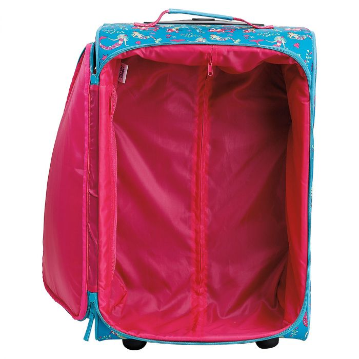 """All-Over Mermaid Print 22"""" Rolling Travel Luggage by Stephen Joseph®"""