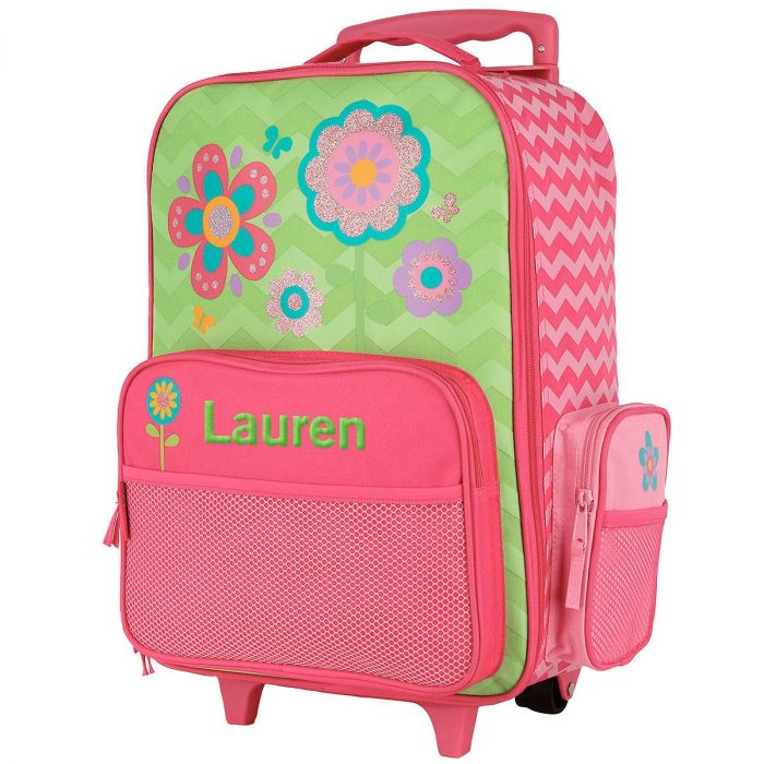 Flower Rolling Luggage by Stephen Joseph®