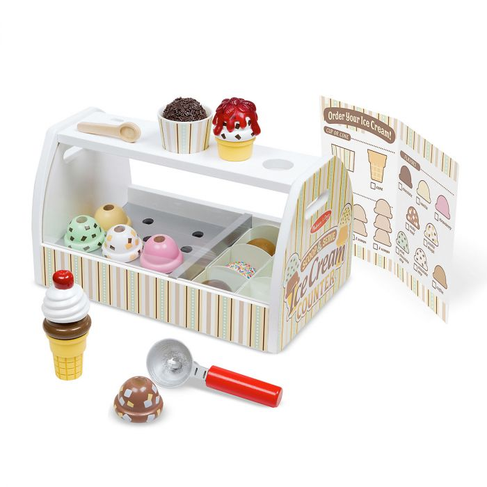 Scoop & Serve Ice Cream Counter by Melissa & Doug®