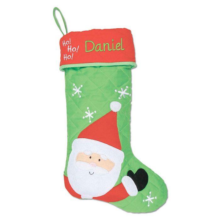 Santa Personalized Christmas Stocking  by Stephen Joseph®