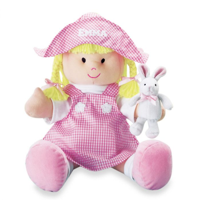 My First Easter Handmade Personalized Doll