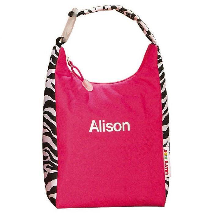Zebra Print Lunch Bag