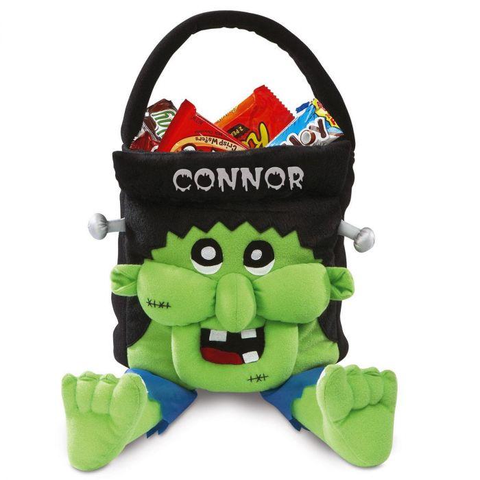 Freaky Frankie Personalized Halloween Treat Bag
